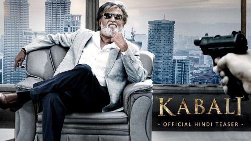 """La estrella del cine indio Rajinikanth en una escena de """"La venganza de Kabali""""."""