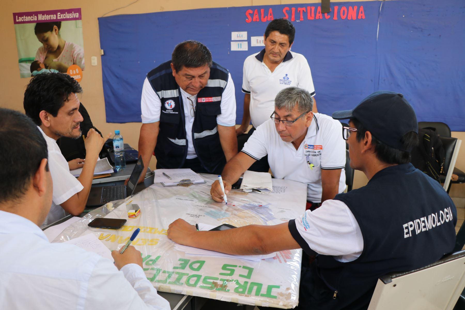Autoridades de Salud de La Libertad ejecutan acciones ante brote de dengue en distrito de Paiján. ANDINA