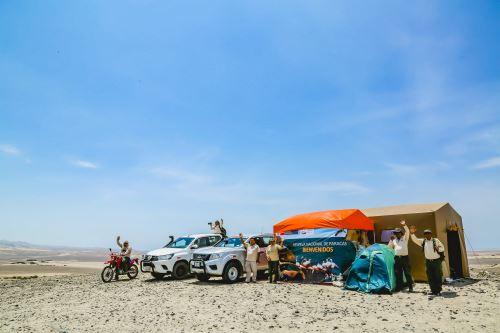 Sernanp destaca la responsabilidad ambiental del Rally Dakar 2019. ANDINA/Difusión