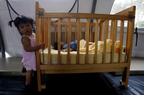 Cuna Más temporal para los niños afectados por el aniego en SJL