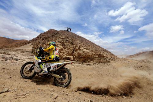 Las mejores fotos del Dakar 2019