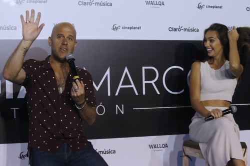 Gian Marco presenta nuevo  disco