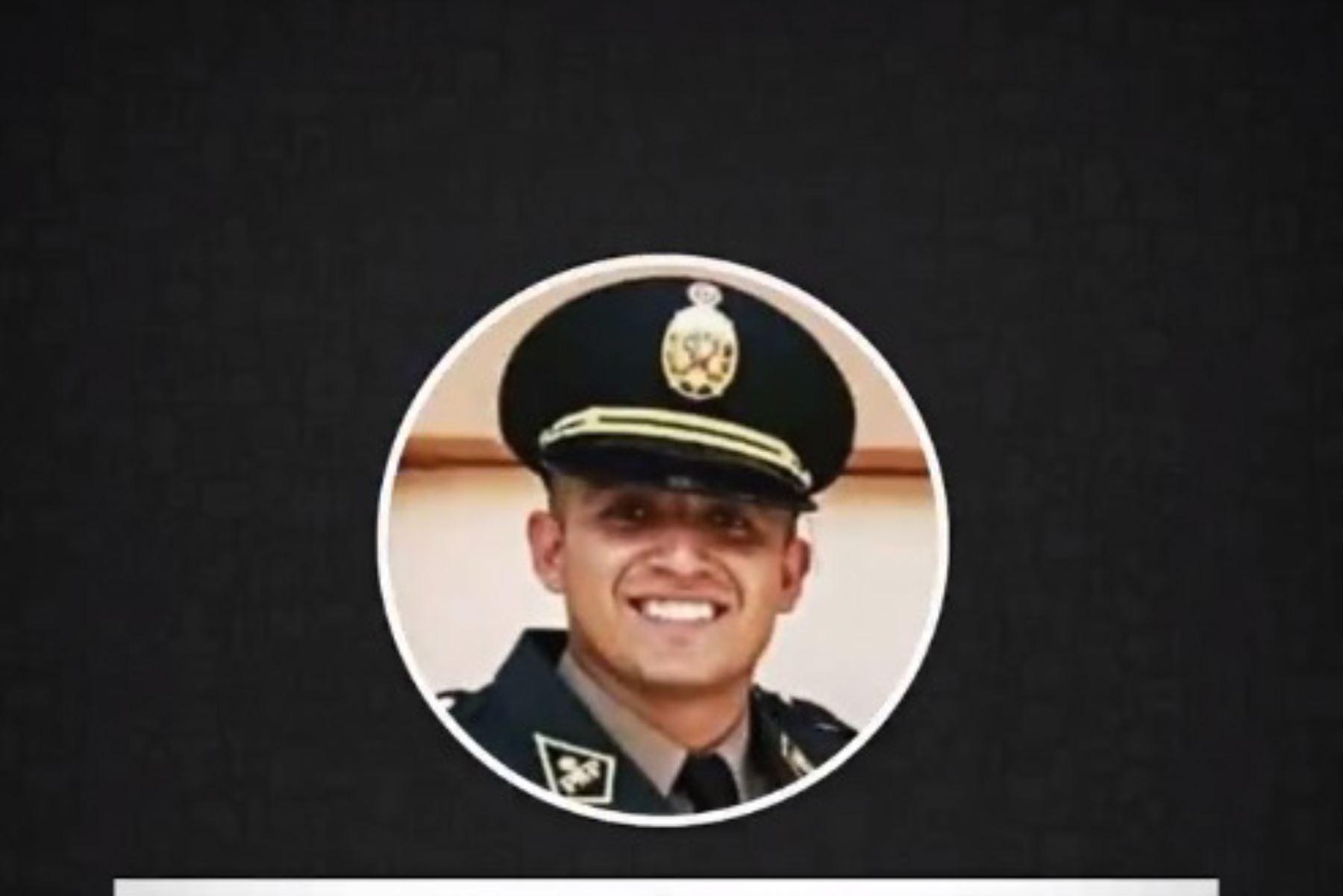 El suboficial PNP Elvis Miranda Rojas, recluido en el penal de Piura, hoy cumple 25 años. Foto: ANDINA/Difusión