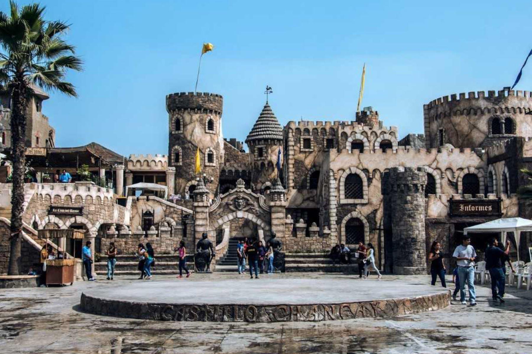 Castillo de Chancay, ubicado en la provincia de Huaral, al norte de Lima.