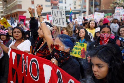Marcha de las mujeres: miles marchan en Estados Unidos en contra de la política de Donald Trump