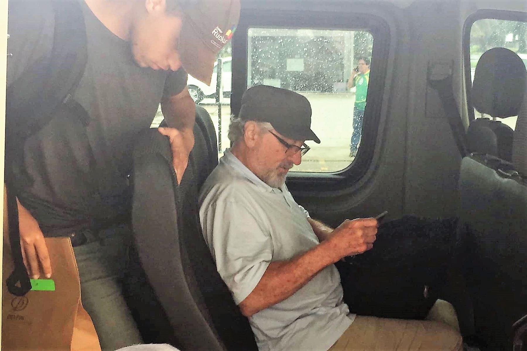 Actor Robert de Niro visita Iquitos y pasea por Reserva Pacaya Samiria. Foto: Jorge Martín Carrillo Rojas/Facebook
