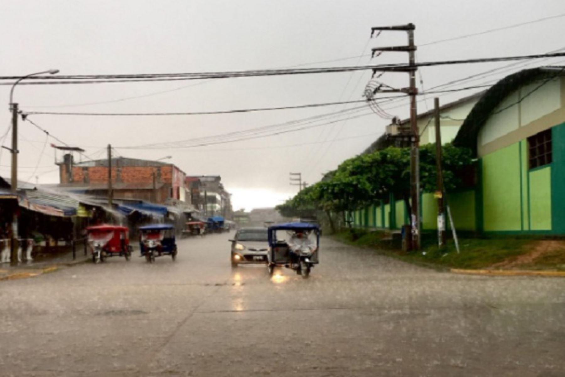 Lluvias aisladas de moderada a fuerte intensidad se presentarían hoy martes 22 y mañana miércoles 23 en la selva peruana, informó el Servicio Nacional de Meteorología e Hidrología (Senamhi).