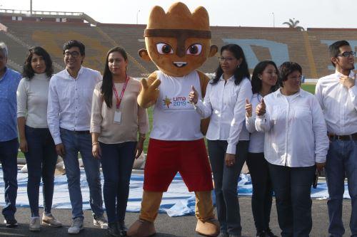 Esperan seleccionar a 19,000 voluntarios peruanos e internacionales para que apoyen XVIII Juegos Panamericanos y Paramericanos. ANDINA/Nathalie Sayago