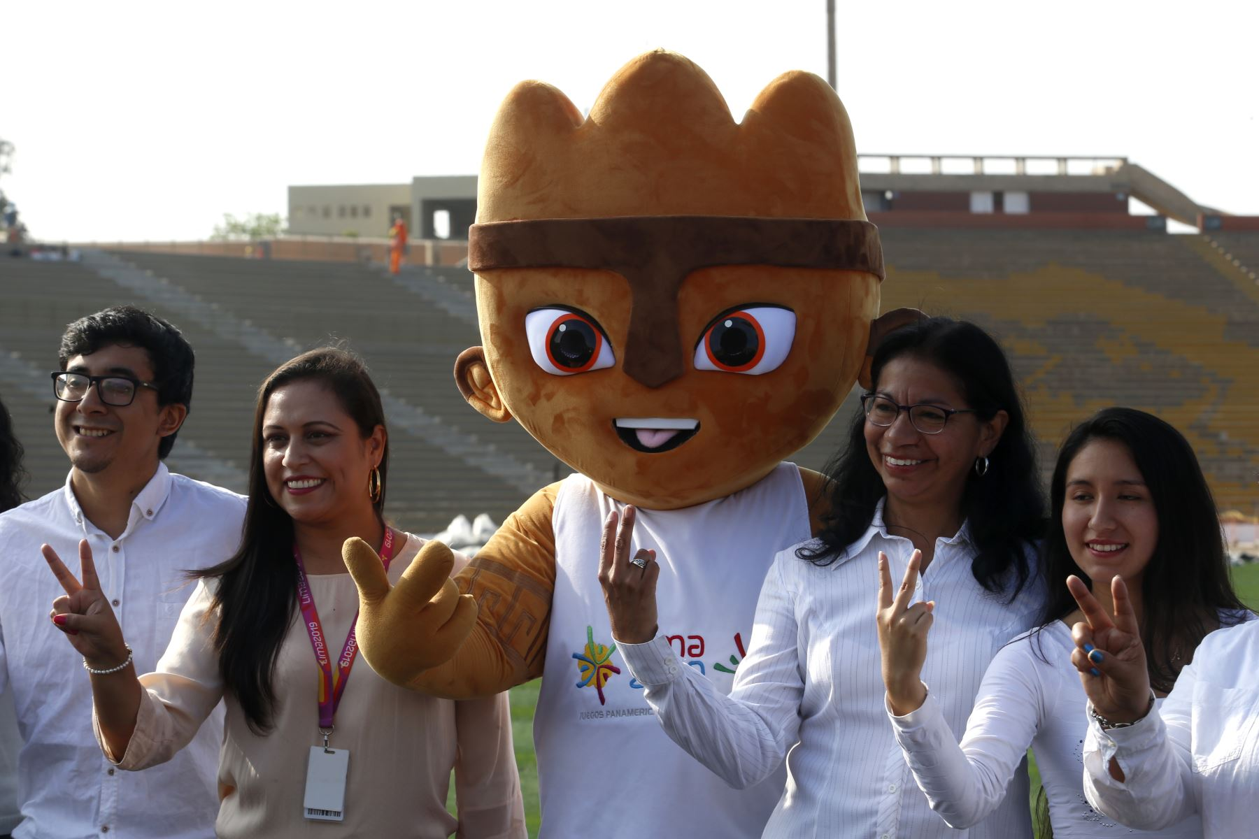 Programa de voluntariado Lima 2019 preparará a 19,000 personas del país y el mundo para que cumplan labores de apoyo en Juegos Panamericanos y Parapanamericanos. ANDINA/Nathalie Sayago