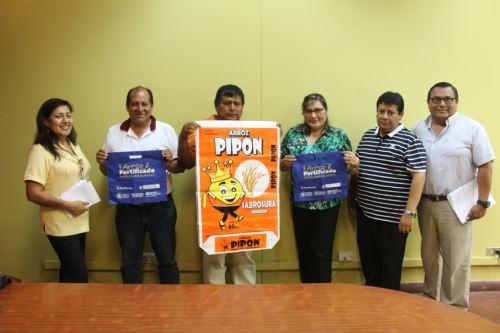 Promueven consumo de arroz fortificado para combatir la anemia en Chimbote. ANDINA