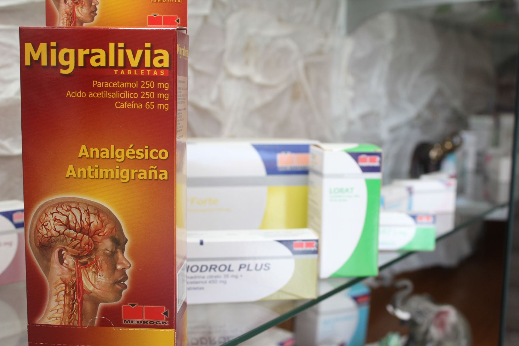 Exportaciones de medicinas.