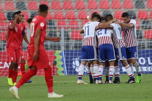 Perú trastabilló en el Sudamericano Sub-20 tras caer 1-0 ante Paraguay