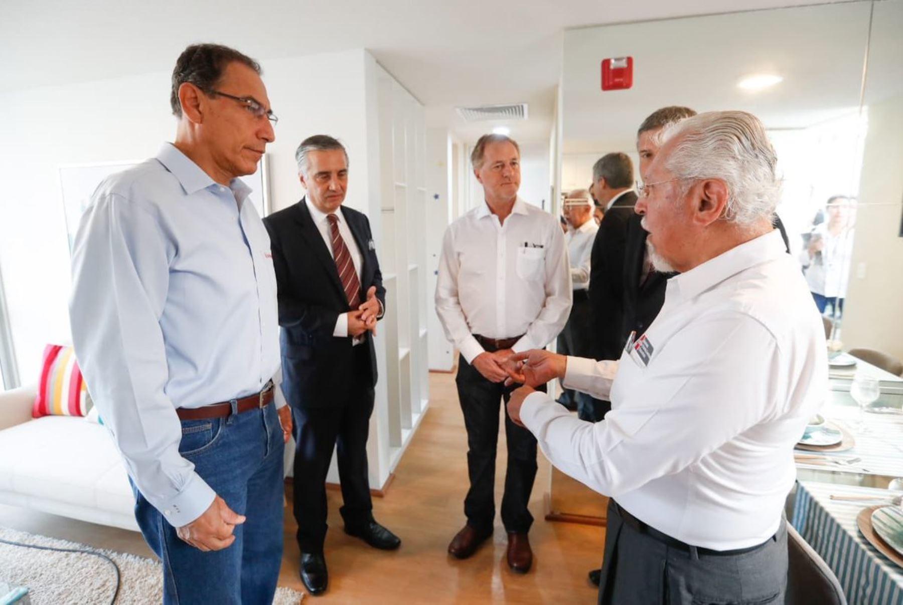 23/01/2019   El presidente Martin Vizcarra, preside lanzamiento del proyecto La Alameda del Rímac, iniciativa que comprende la construcción de 5984 viviendas. Difusión