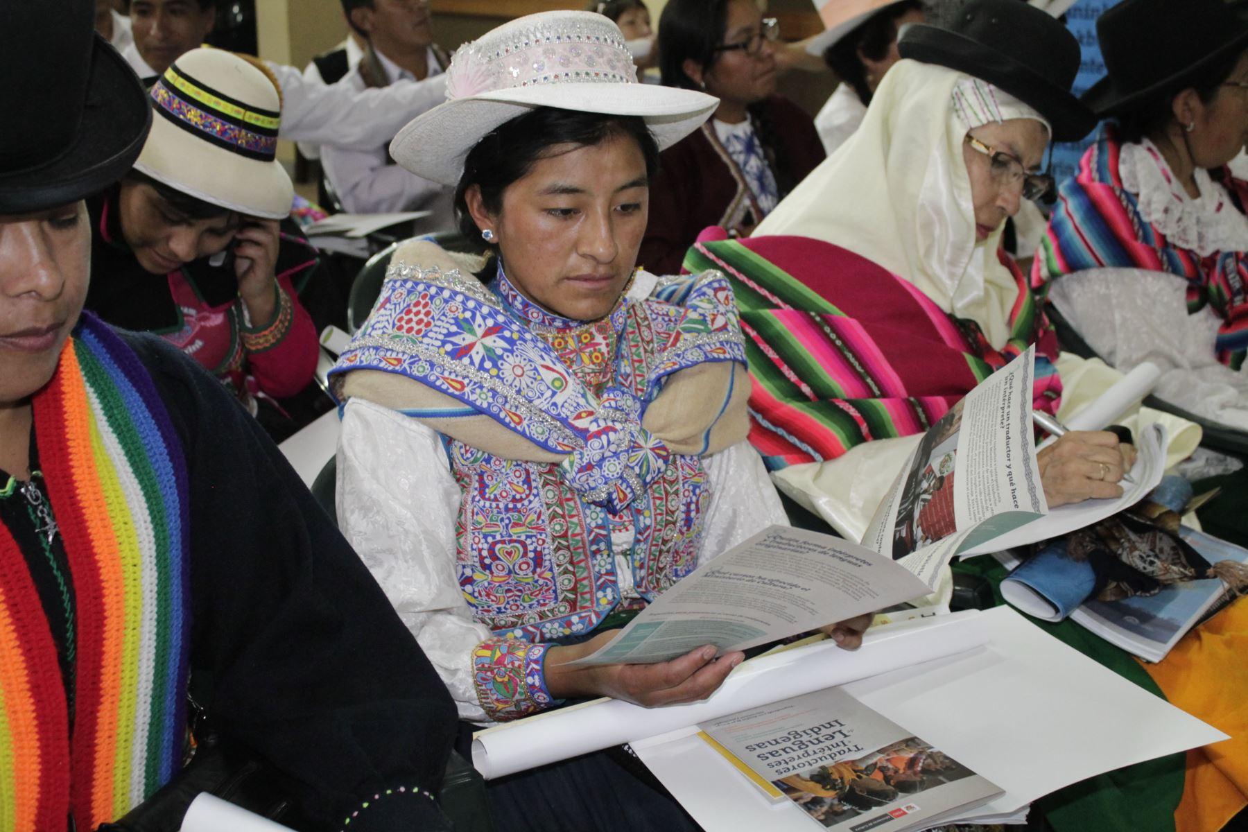 Perú participará en ceremonia de lanzamiento del Año Internacional de las Lenguas Indígenas que organiza la Unesco en París.