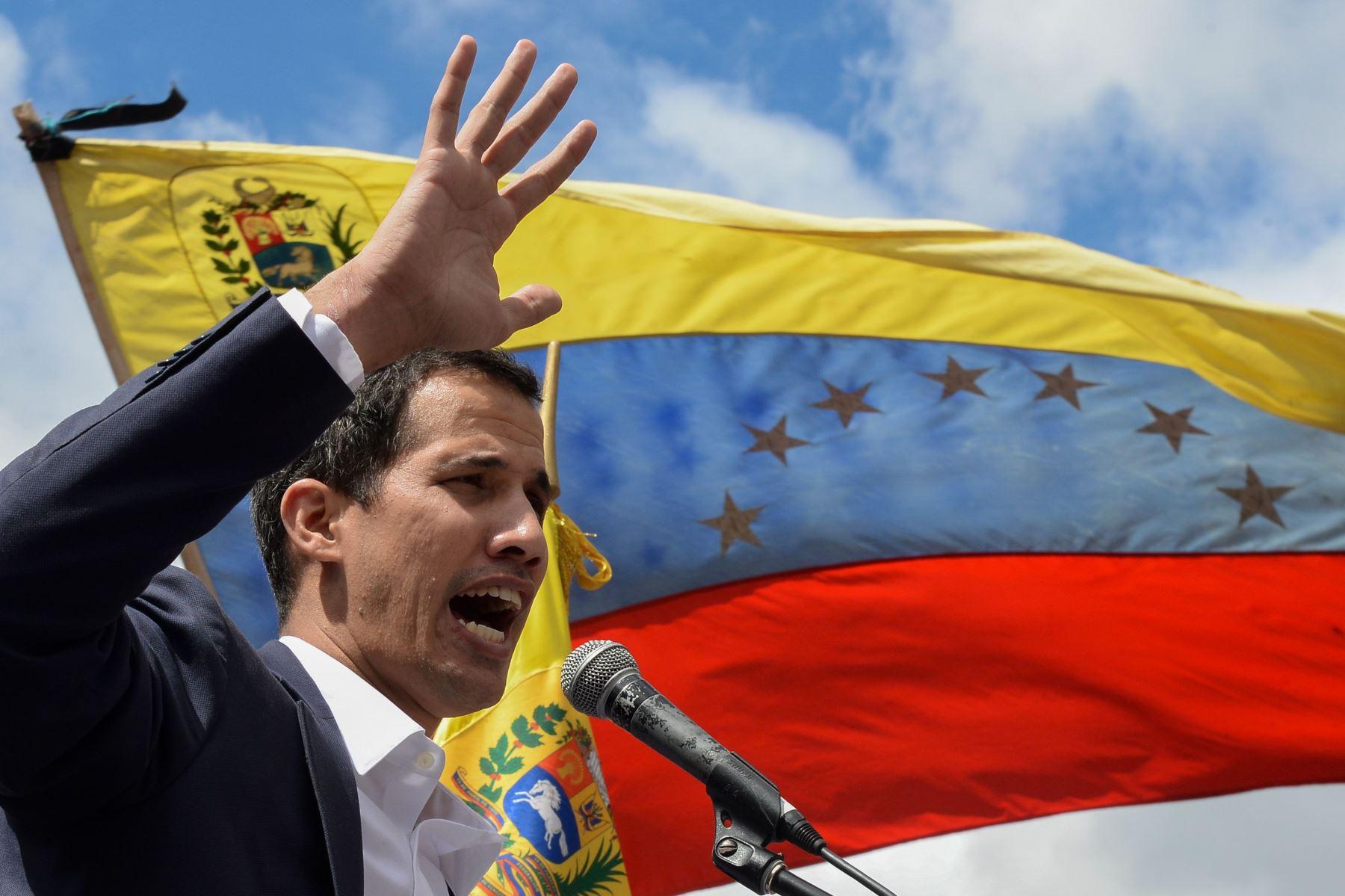 El jefe de la Asamblea Nacional de Venezuela, Juan Guaido Foto: AFP