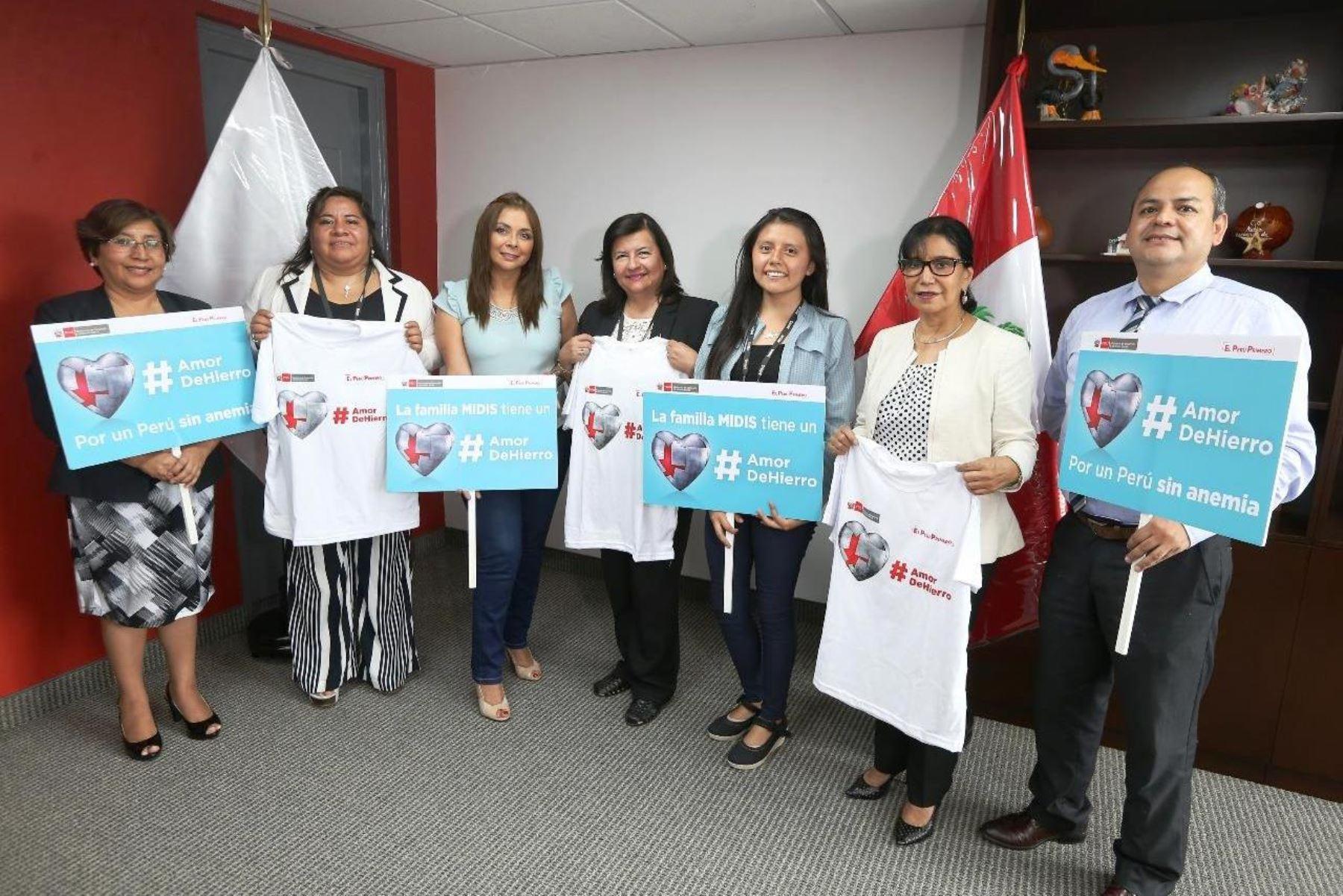 Sanmarquinos que crearon gelatina para combatir la anemia fueron reconocidos. Foto: ANDINA/Difusión.
