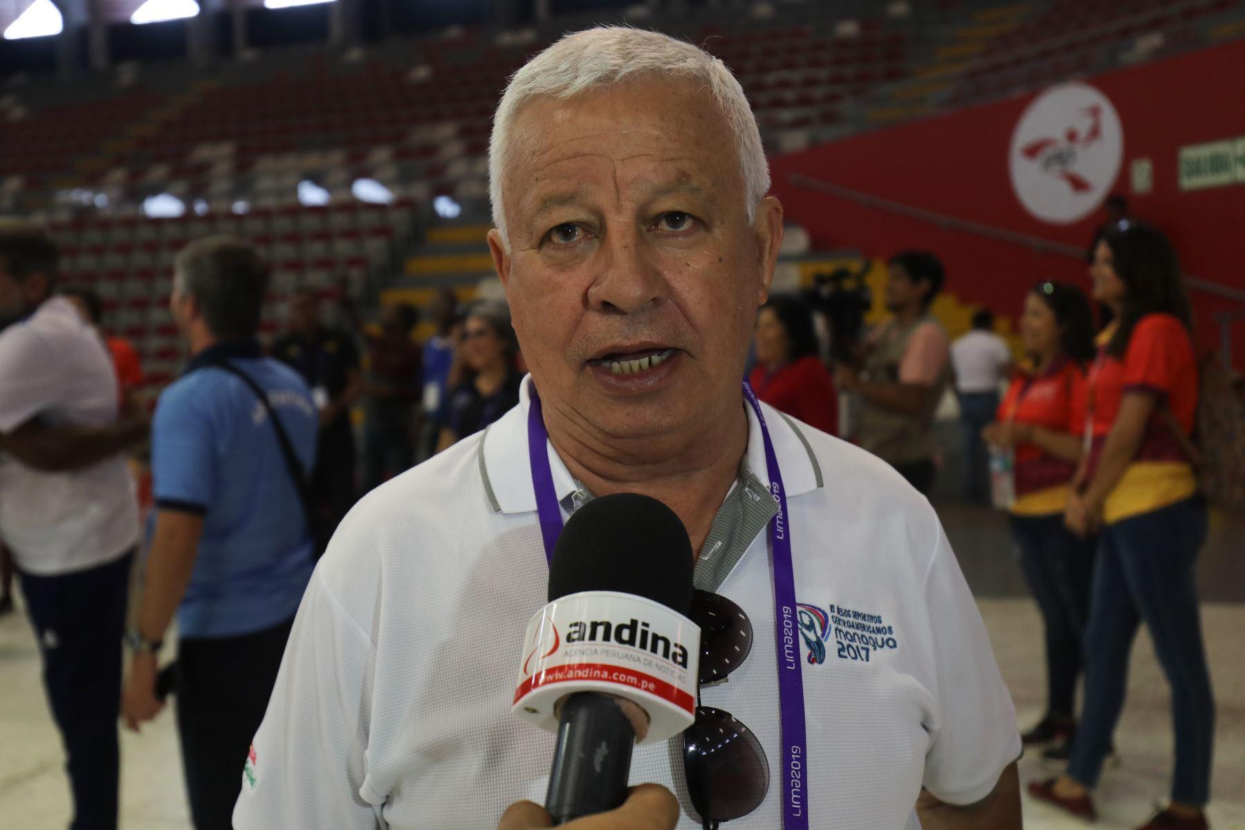 Mario Argeñal, delegado de Honduras. Foto: ANDINA/Juan Carlos Guzmán