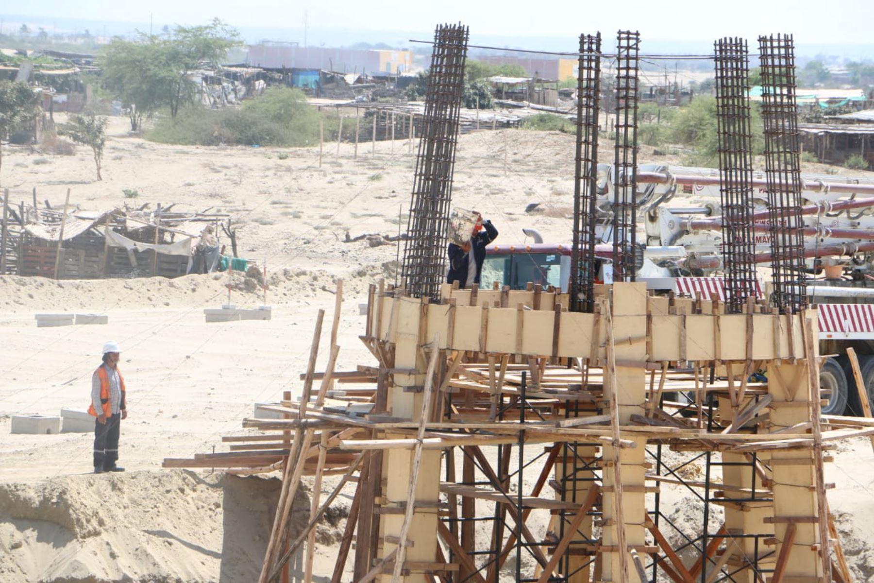 El sector construcción registra la mayor tasa de creación de empresas. ANDINA/Difusión