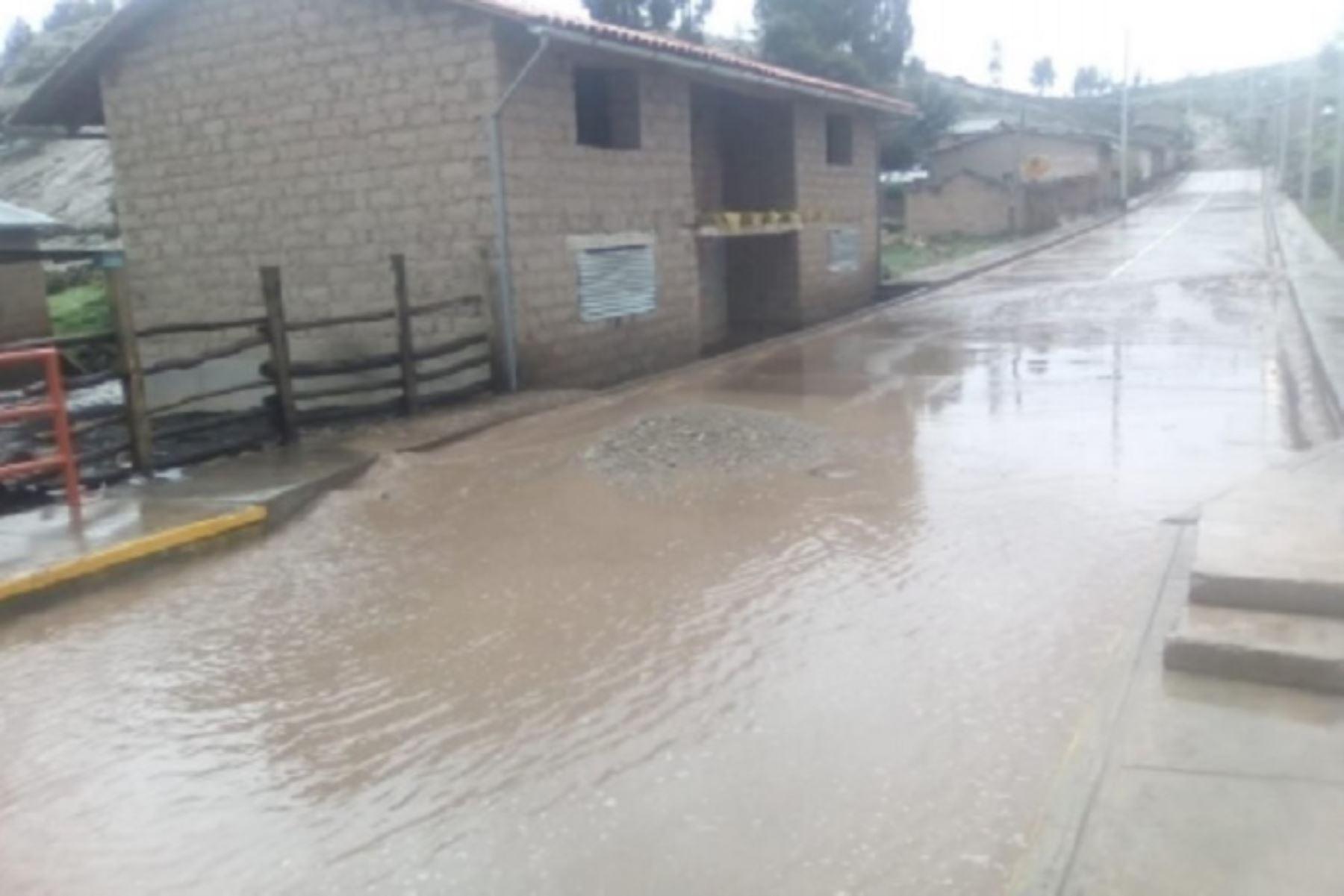 Intensas lluvias causaron la inundación de 49 viviendas ubicadas en el  distrito de Pomacocha, provincia de Andahuaylas, región Apurímac, informó el Instituto Nacional de Defensa Civil (Indeci).