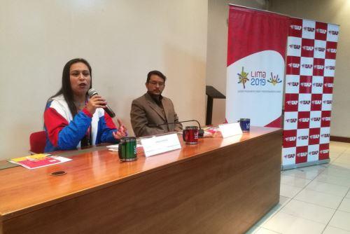 Amplían hasta el 22 de febrero registro de voluntarios para los Juegos Panamericanos Lima 2019. ANDINA/Susana Mendoza