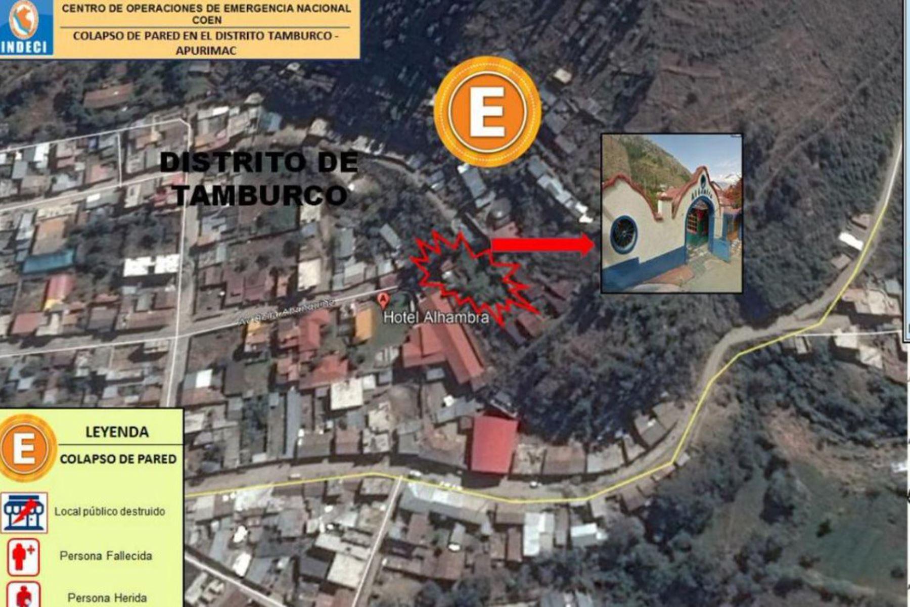 El hotel Alhambra está ubicado en la provincia de Abancay, región Apurímac.