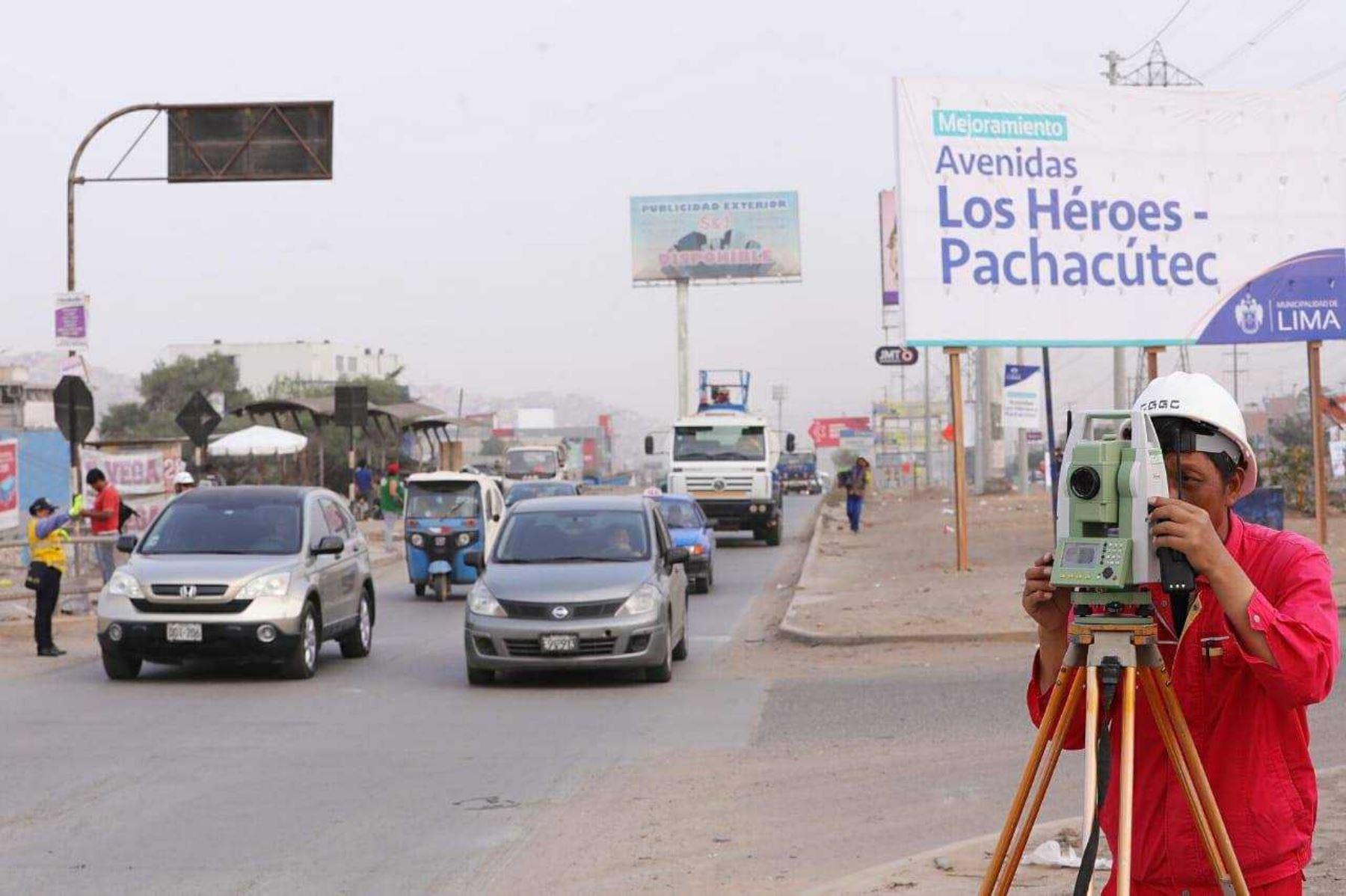Inician obras para mejorar infraestructura vial en Lima Sur. Foto: ANDINA/Difusión.