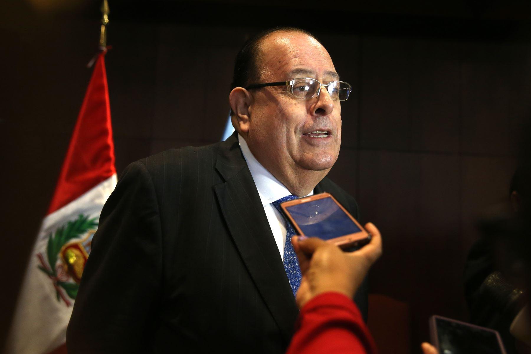 Presidente del Banco Central de Reserva, Julio Velarde. ANDINA/Vidal Tarqui