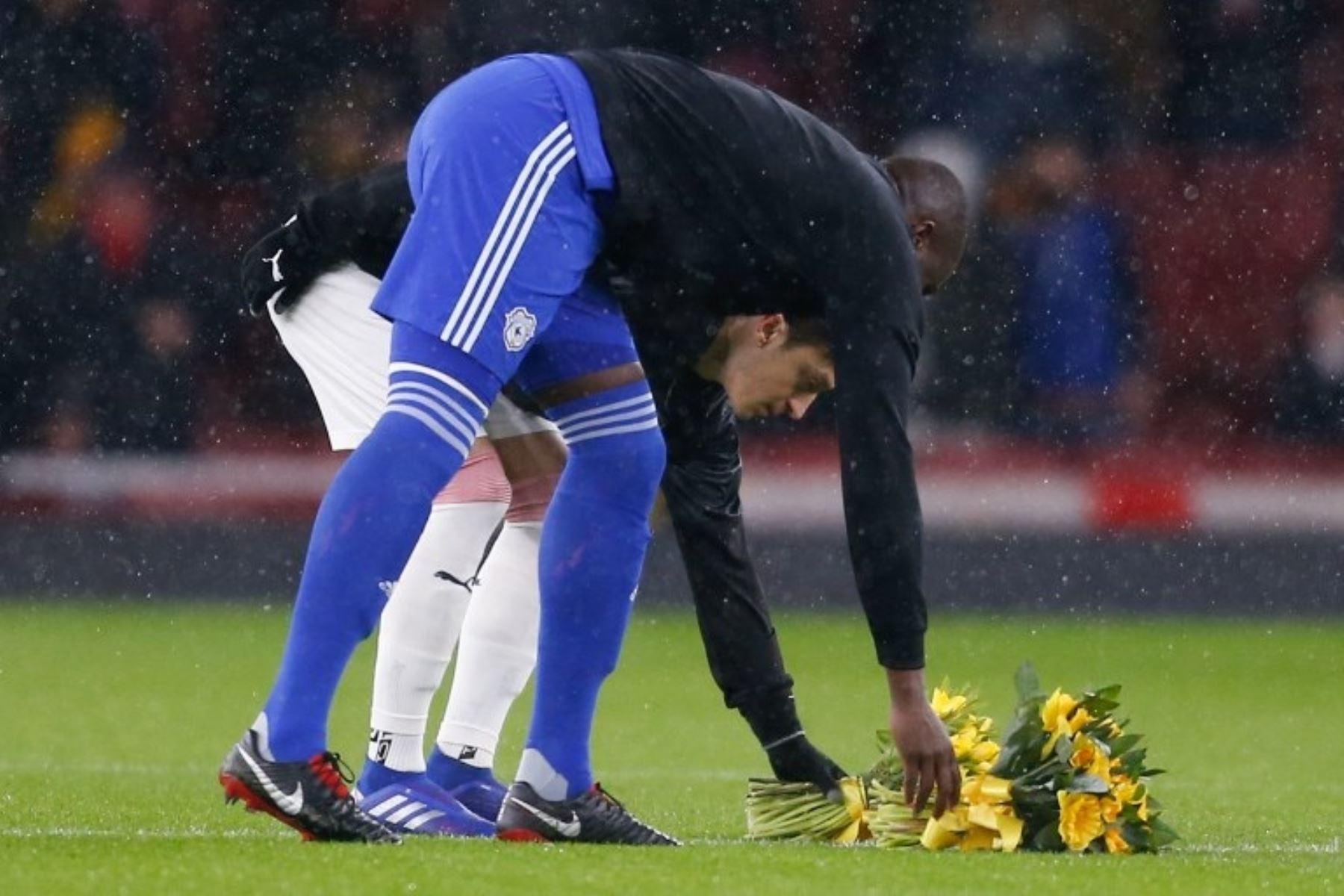 Emiliano Sala estuvo presente en el partido entre Cardiff y Arsenal