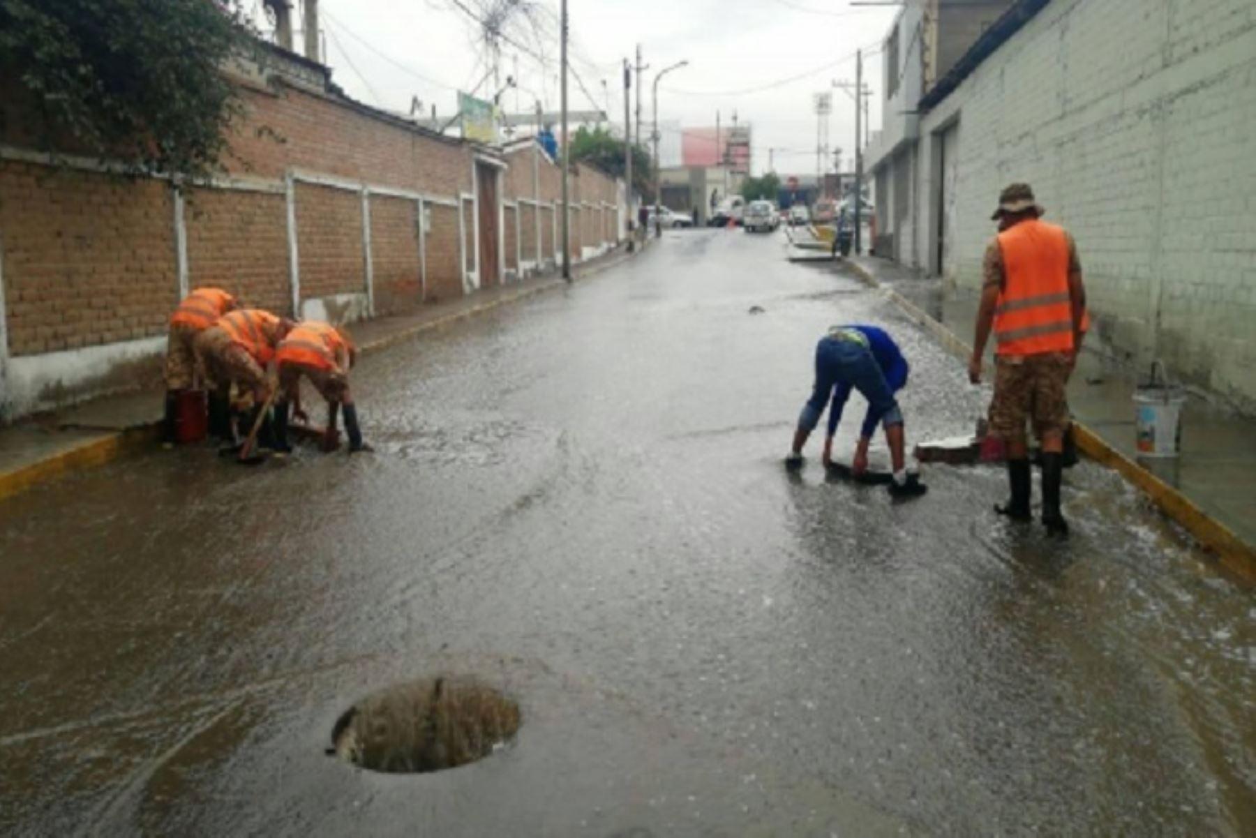 Zonas altas de Tacna y Moquegua soportarán hoy lluvias extremas. ANDINA/Difusión