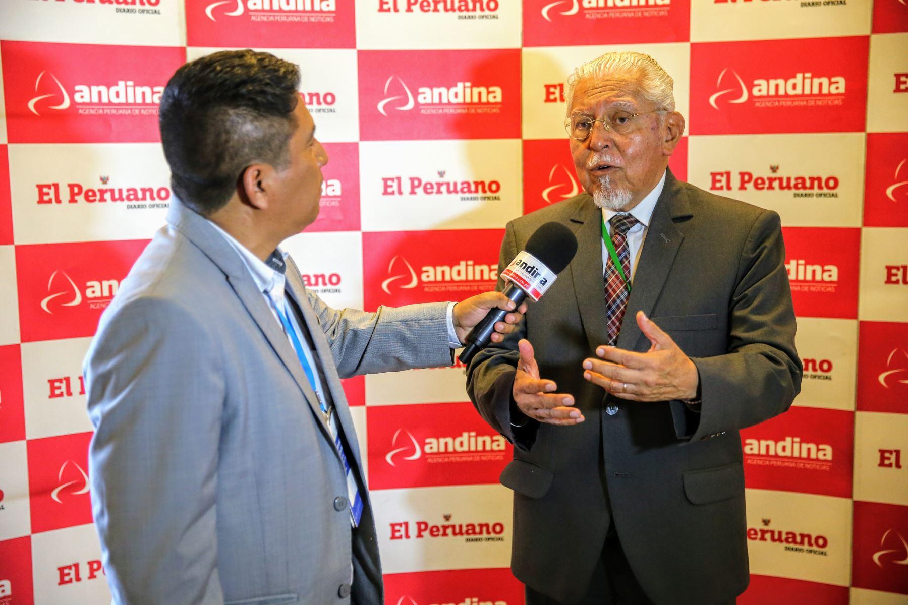 Ministro de Vivienda, Construcción y Saneamiento, Javier Piqué. ANDINA/Luis Iparraguirre