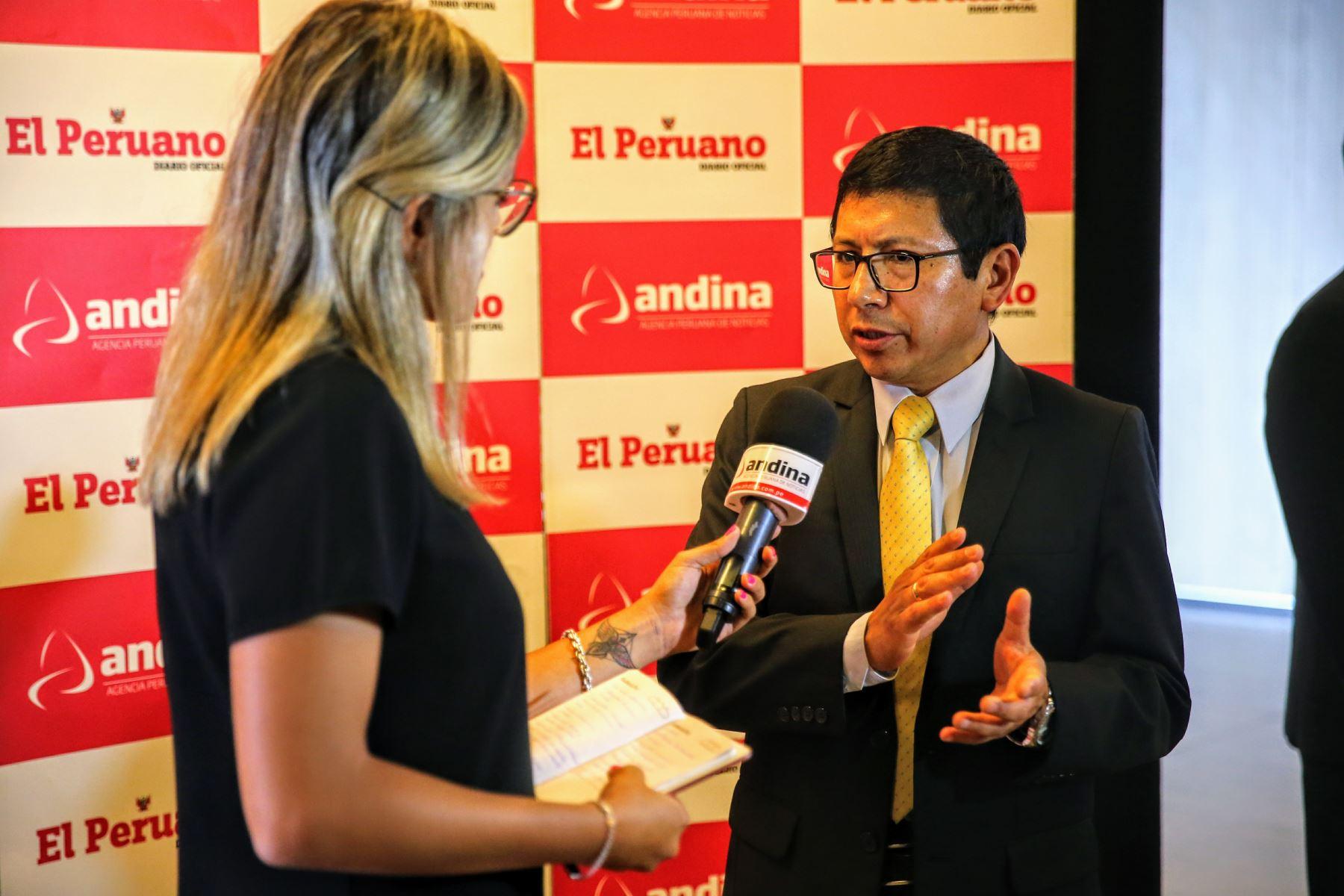 Ministro de Transportes y Comunicaciones, Edmer Trujillo ANDINA/Luis Iparraguirre