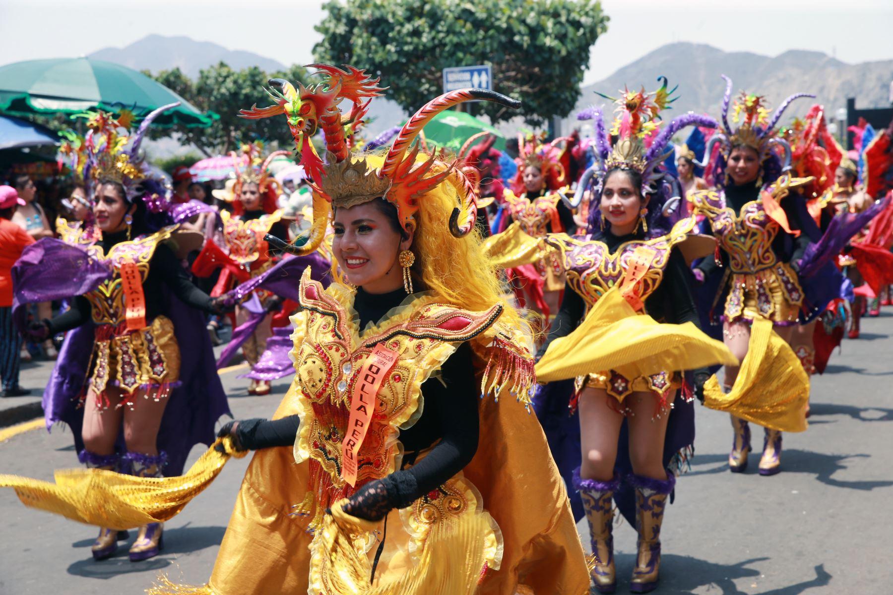 Virgen de la Candelaria: este sábado empieza la fiesta más apoteósica del sur peruano. ANDINA/Norman Córdova