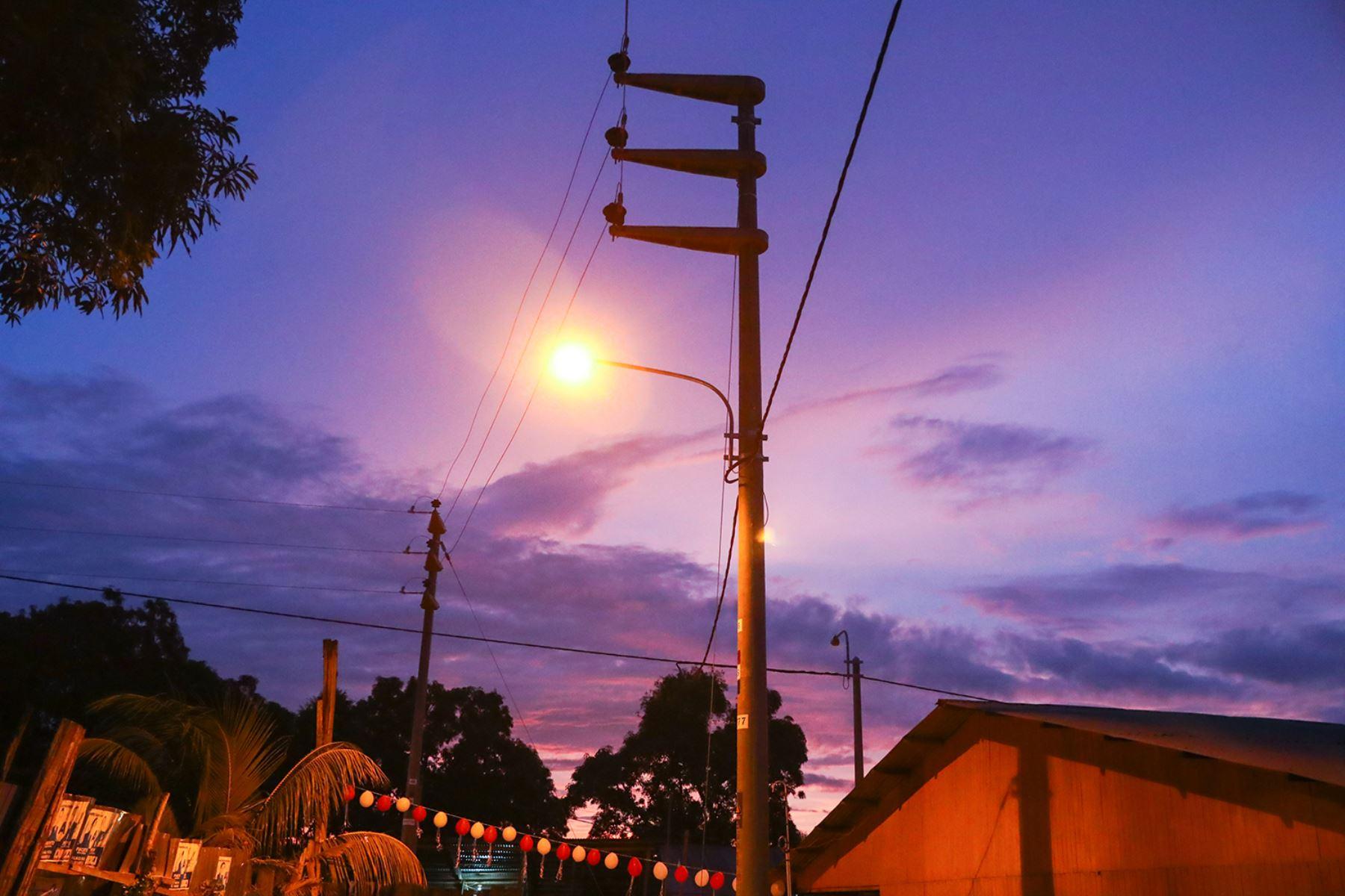 MEM agilizará proyectos de electrificación rural en provincia de Ucayli, región Loreto. ANDINA/Difusión