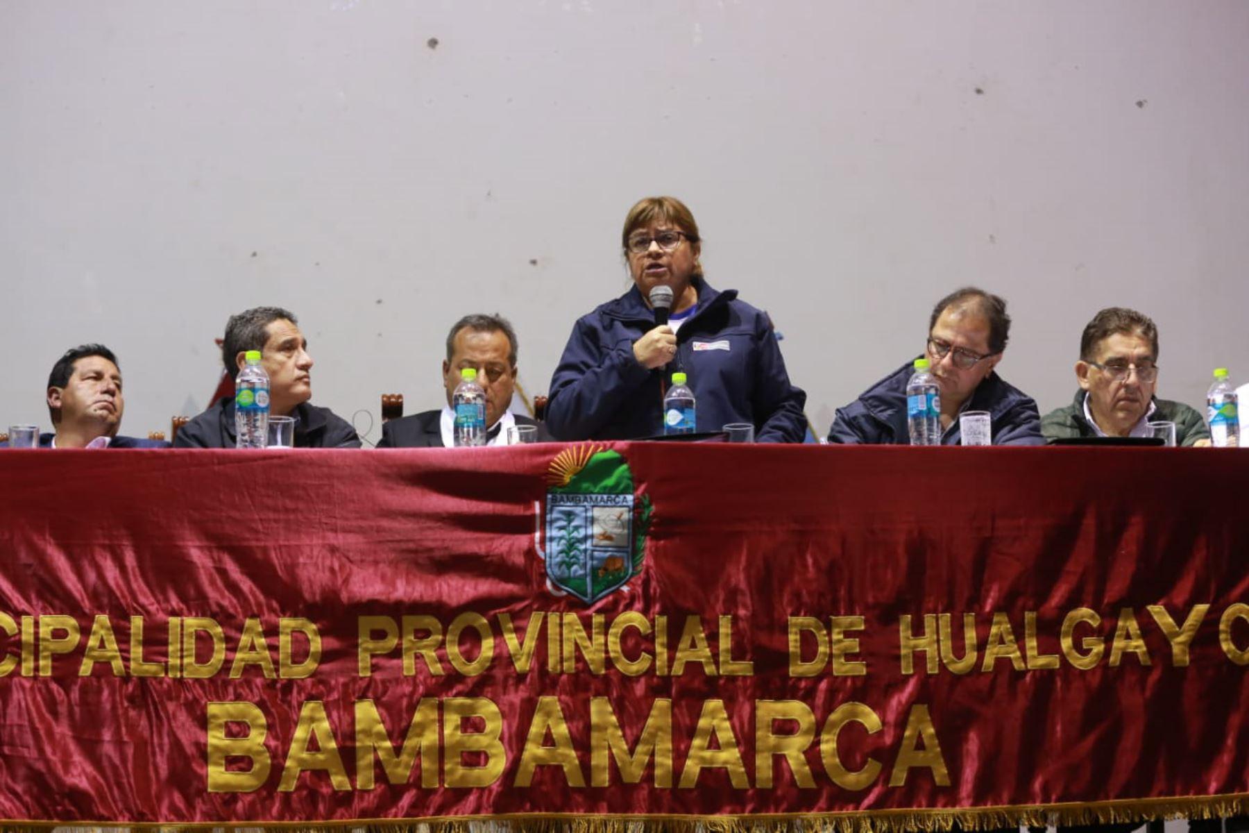 Ministerio de Salud anuncia que se brindará atención a afectados por contaminación ambiental en Bambamarca, Cajamarca.