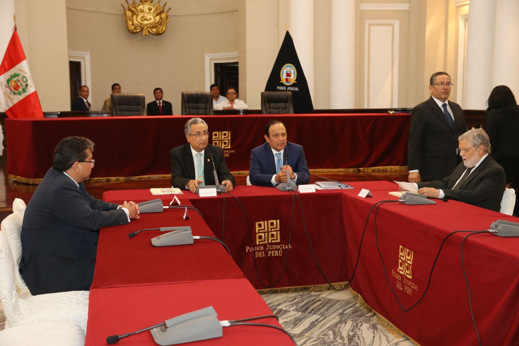 Comisión Especial que designará a los integrantes de la Junta Nacional de Justicia.