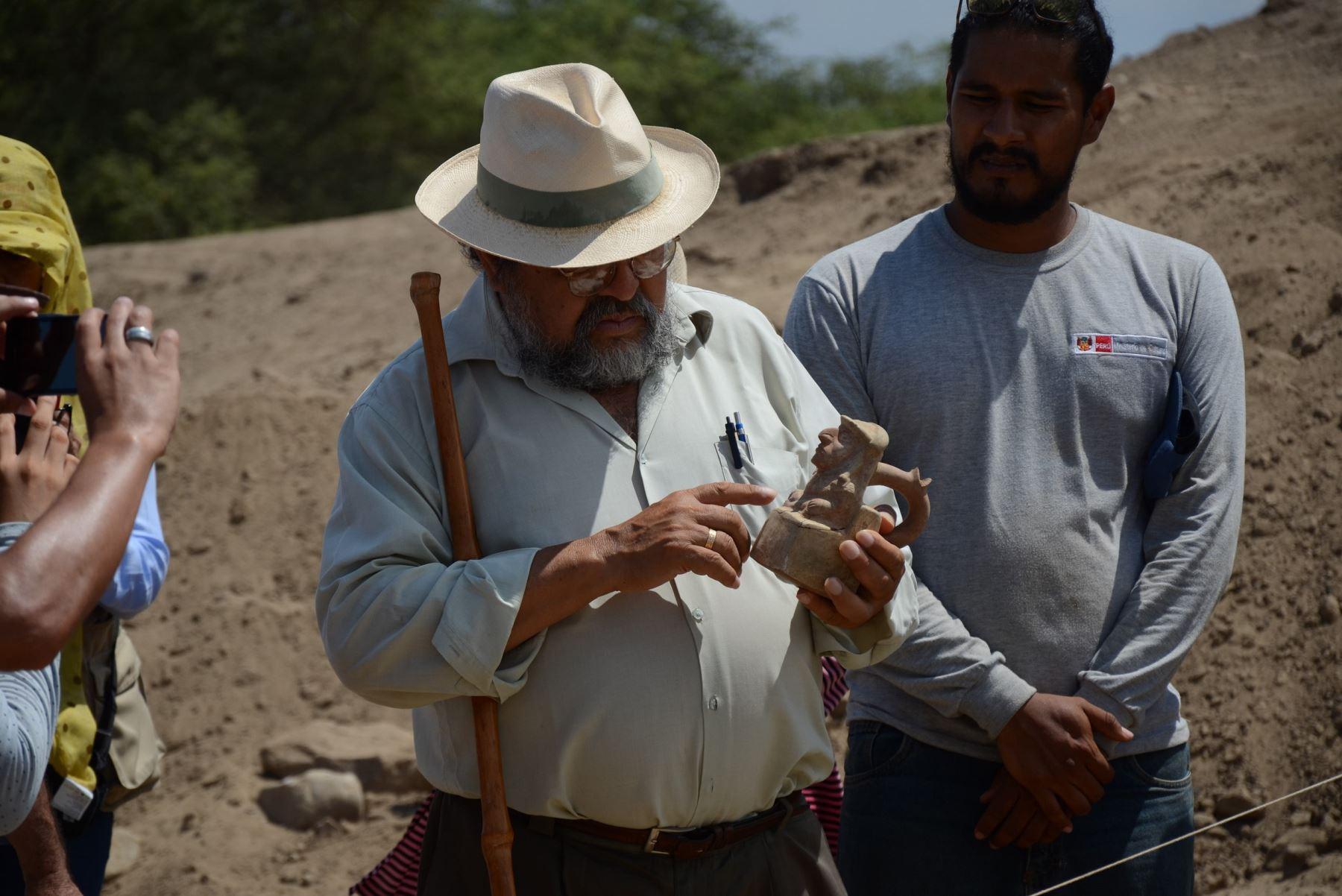 El investigador Walter Alva sostuvo que se espera saber cuál es la vinculación entre Úcupe, Huaca El Limón y Úcupe Pueblo.