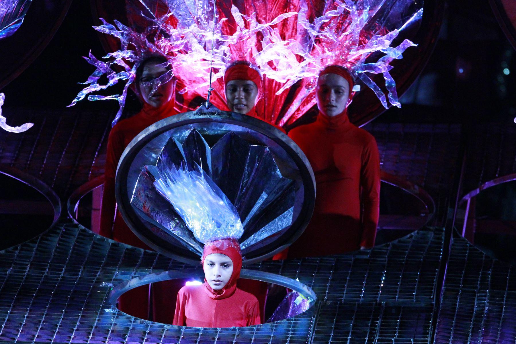 En el musical presentan a los misteriosos niños-corales que habitan en la ciudad conocida como Meriterras. Foto: ANDINA/Eddy Ramos