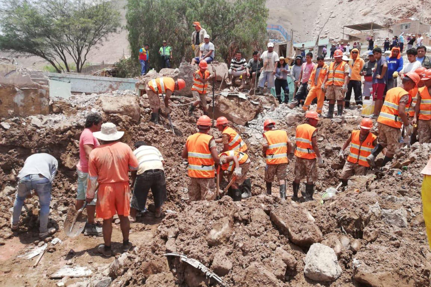 El Ejecutivo prorrogó el estado de emergencia por 60 días calendario, a partir del 13 de junio de 2019, en 40 distritos de 7 provincias de la región Arequipa, por desastre a consecuencia de caídas de huaico y deslizamientos, debido a las intensas precipitaciones pluviales que se presentaron.ANDINA/Difusión