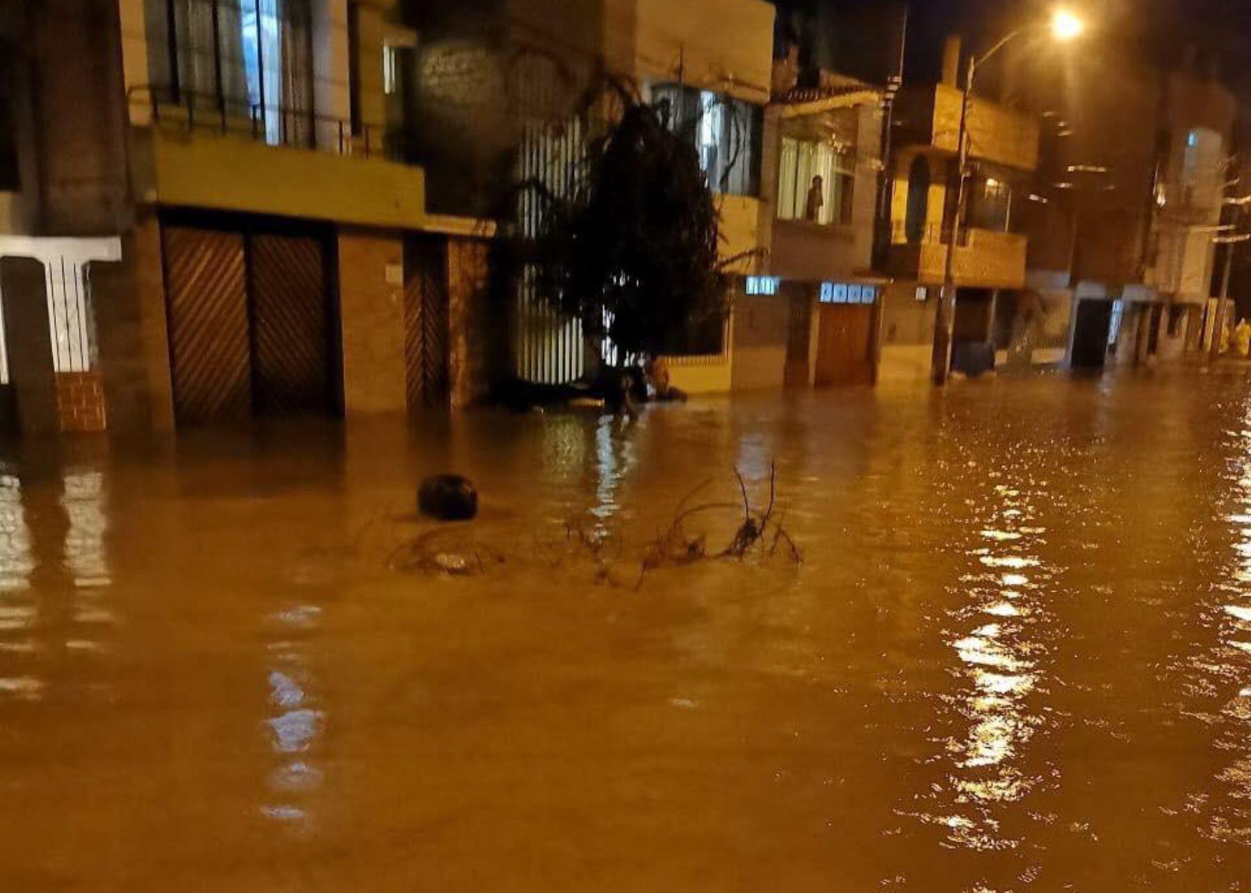 Declaran en estado de emergencia a nueve distritos de Moquegua por desastres. Cortesía