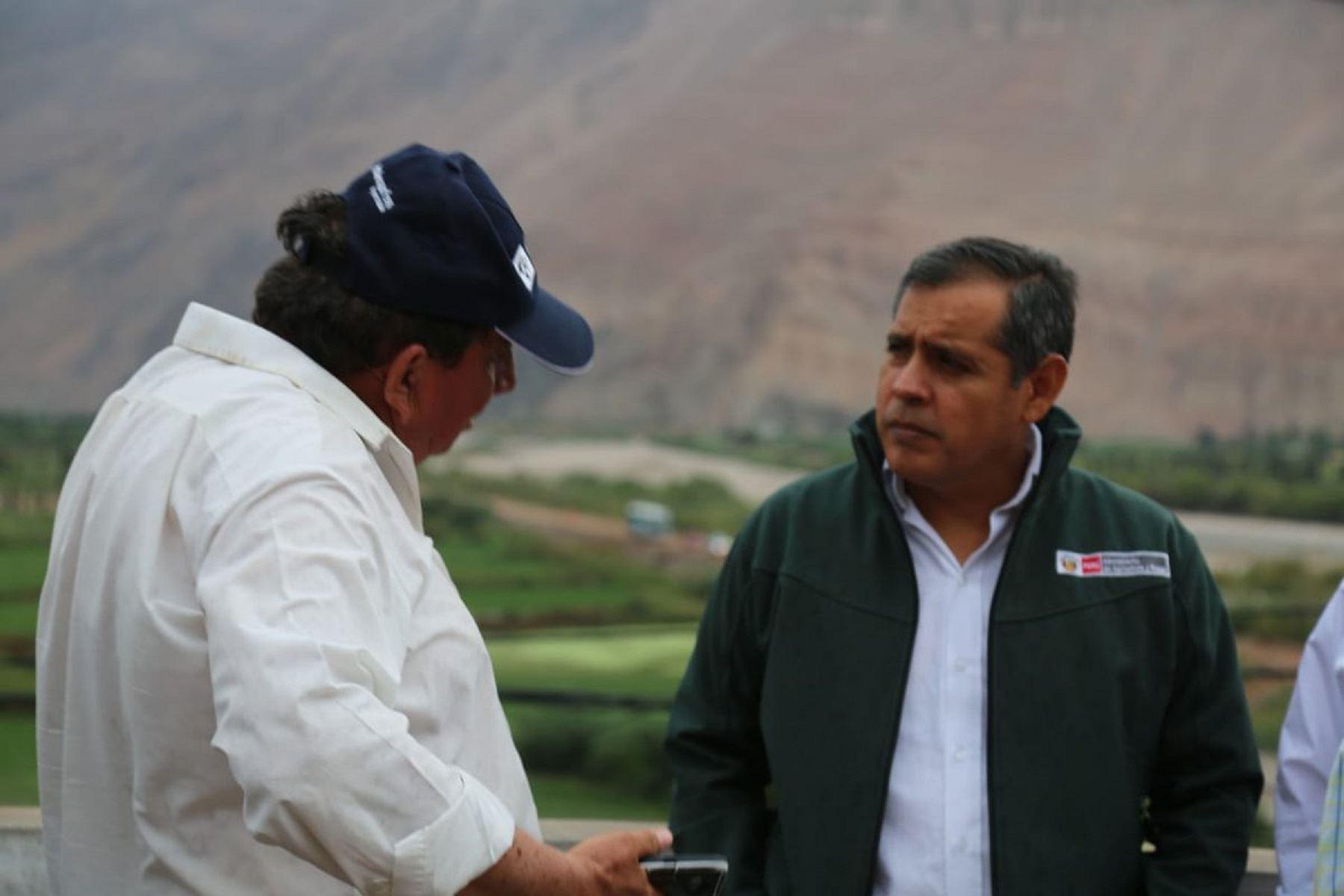 Ministro de Agricultura, Gustavo Mostajo. Foto: Minagri.