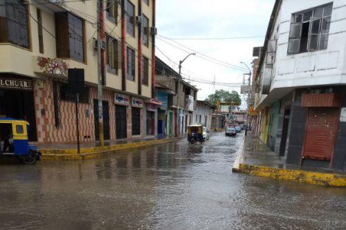 Nueve regiones soportaron una lluvia intensa durante la madrugada. ANDINA/Difusión