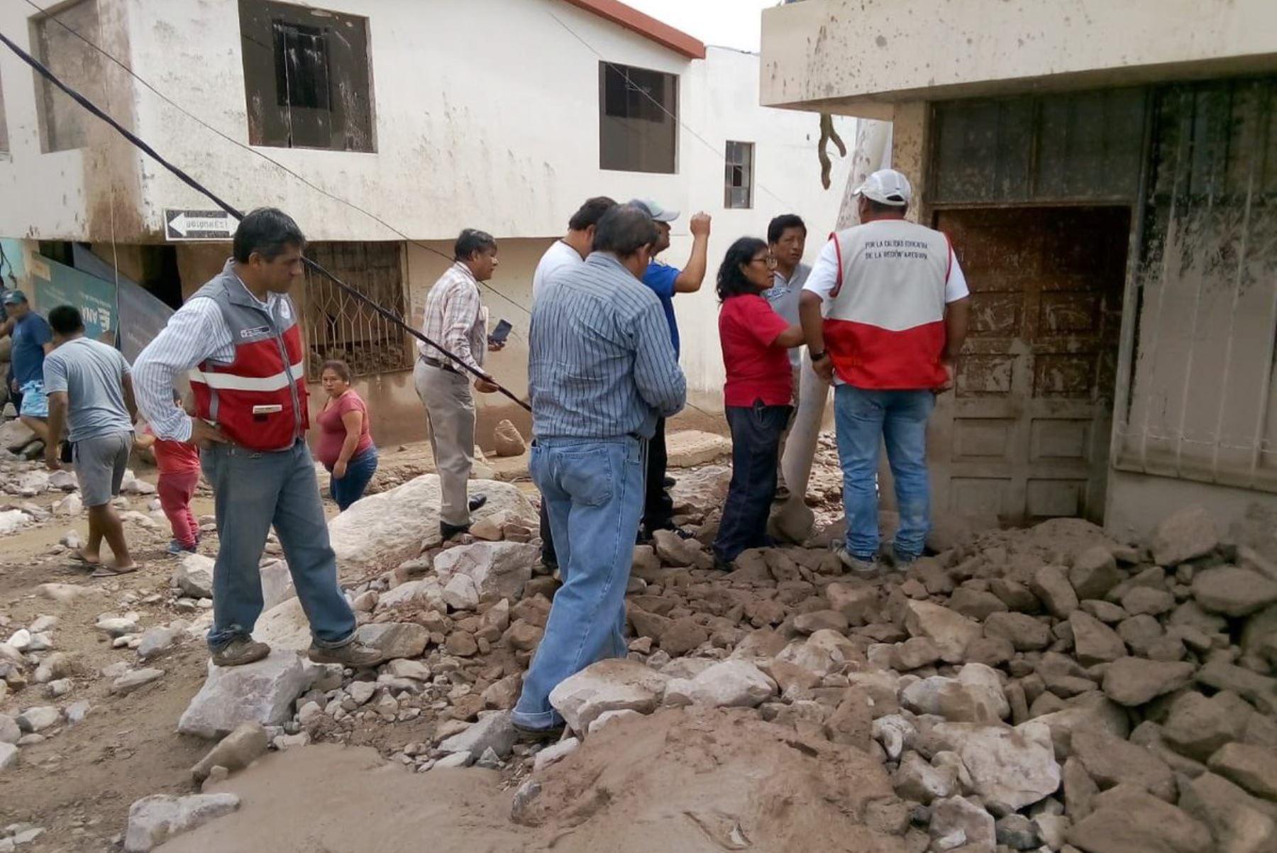 Minedu: equipos de respuesta frente a emergencias sigue evolución de la situación