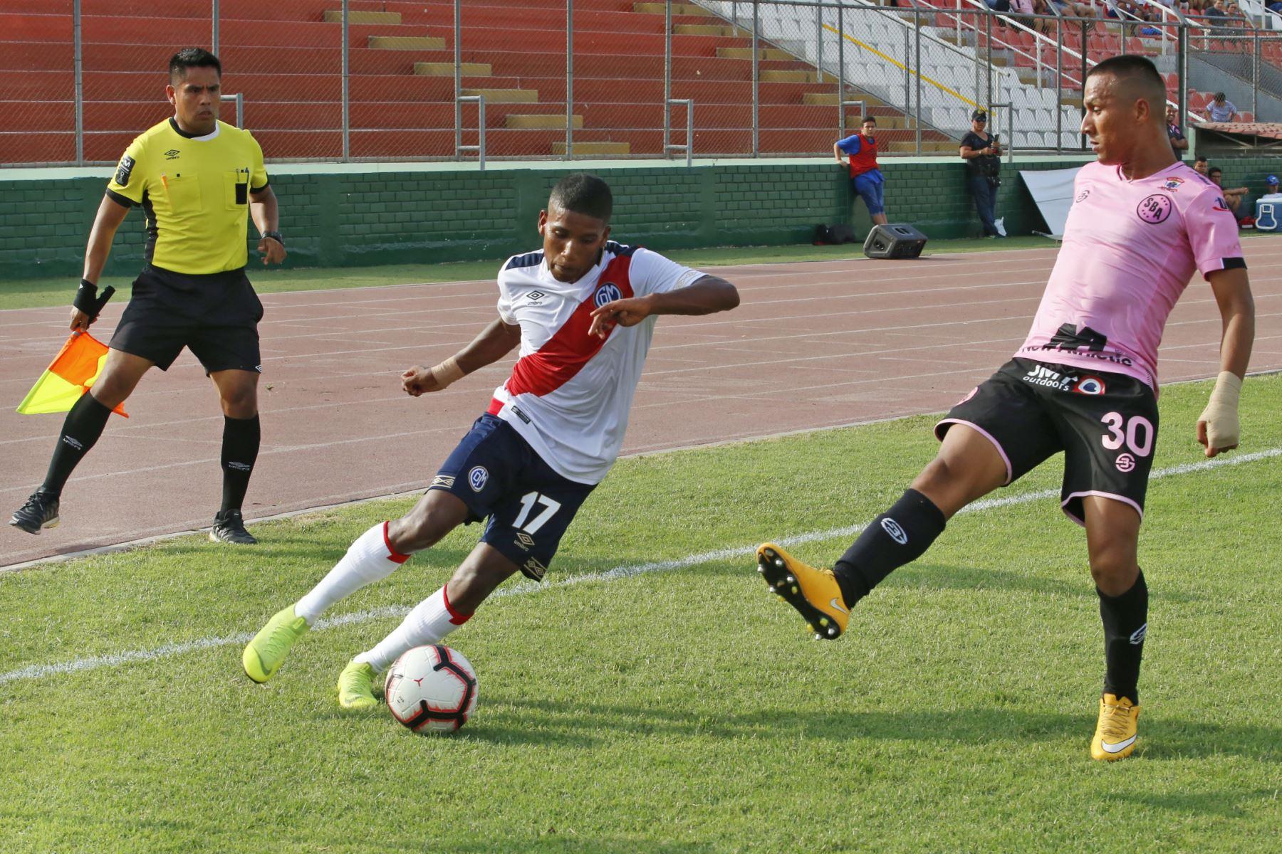 Deportivo Municipal vs Sport Boys se enfrentaron en un partido amistoso en la tarde Edil, en el estadio Miguel Grau del Callao. Foto: ANDINA/Nathalie Sayago