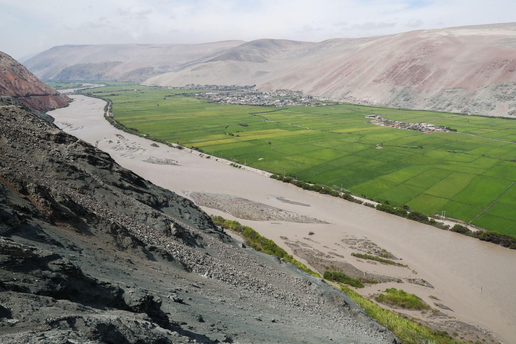 Desembocadura del Río Ocoña, Arequipa.  Foto: ANDINA/Juan Carlos Guzmán Negrini
