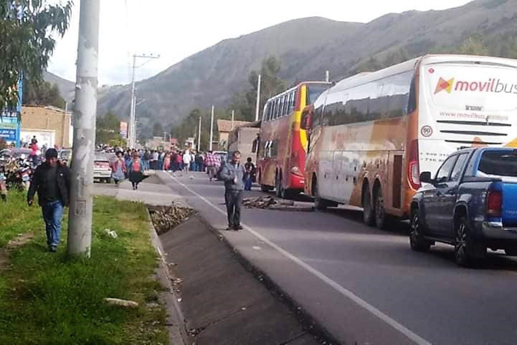 El turismo es el sector más afectado por el bloqueo de vías en Cusco. Cortesía