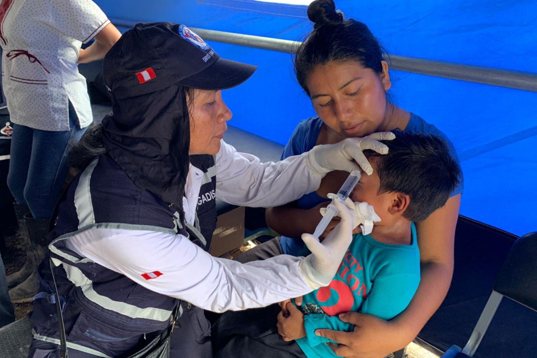 Más de 120 atenciones se han brindado en los puestos médicos de avanzada de la región Tacna.