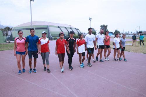 Optimismo y sacrificio caracterizan el entrenamiento de los atletas peruanos paralímpicos que participarán en los Juegos Parapanamericanos Lima 2019 ANDINA/Norman Córdova