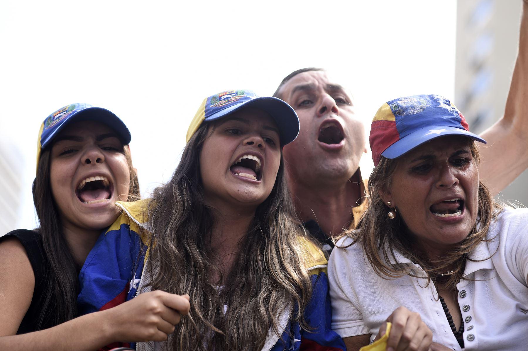 Mujeres venezolanas. Foto: AFP
