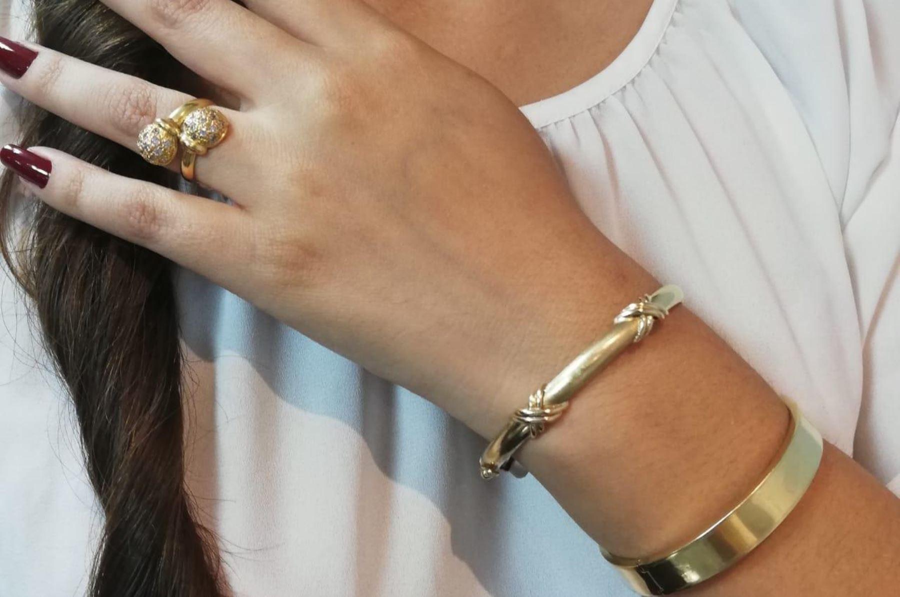 Día de San Valentín: Caja Metropolitana pone a la venta joyas de oro. Foto: ANDINA/Difusión.