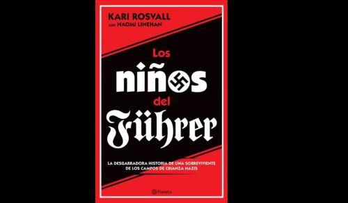 """Portada del libro """"Los niños del Führer""""."""